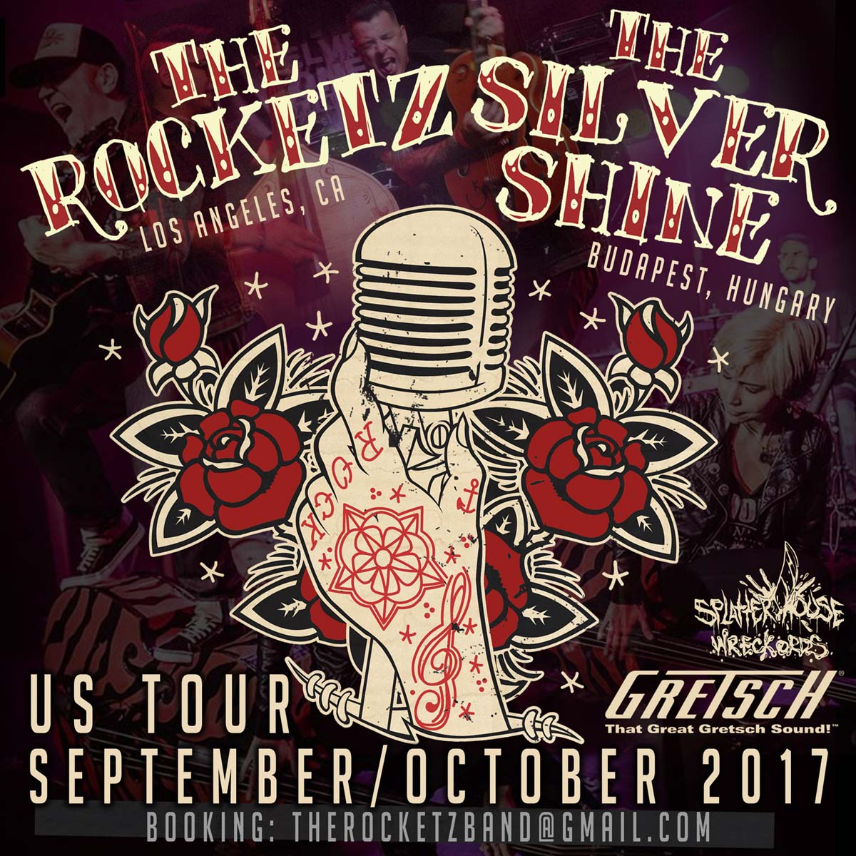 The Silver Shine USA tour 2017