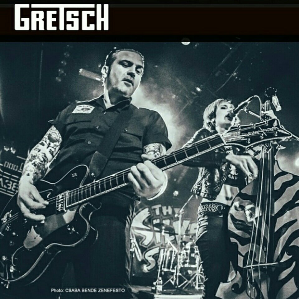 Ati EDGE is the selected spotlight artist on gretsch.com